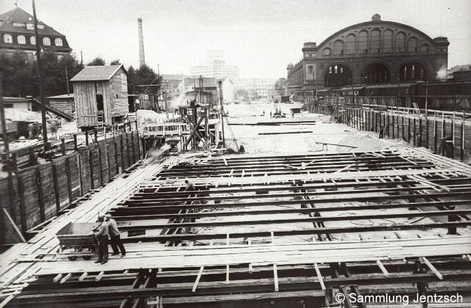 Bauarbeiten um 1937/38