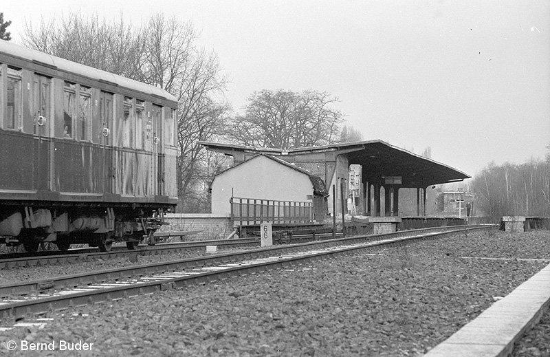 Bild: Bahnsteigansicht 1984