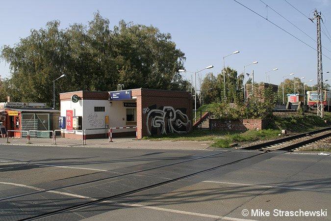 Bild: Bahnsteigzugang