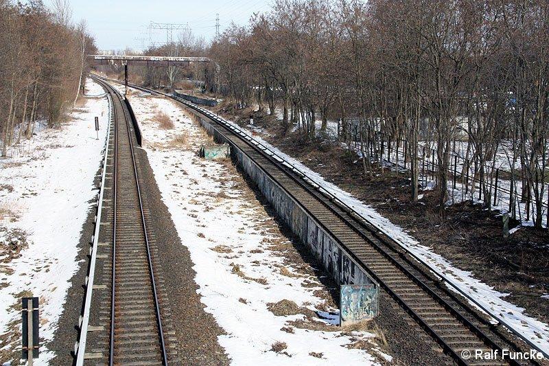 Bild: Bahnsteigfragmente März 2013