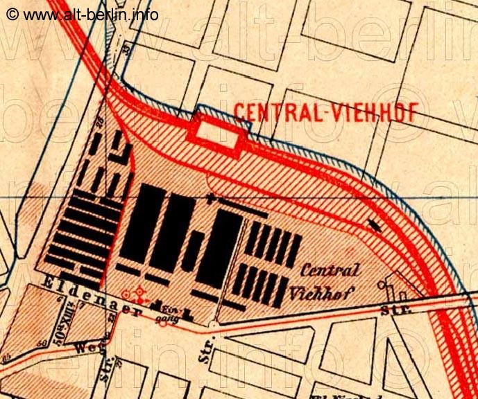 Bild: Stadtplanausschnitt von 1893