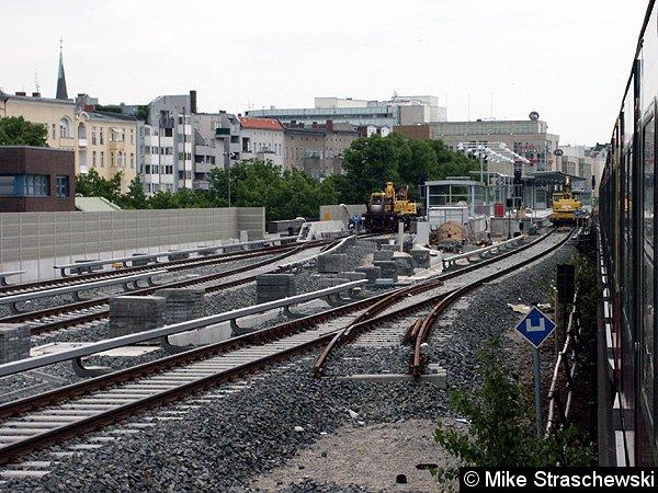 Bild: Bauarbeiten im Bahnhof
