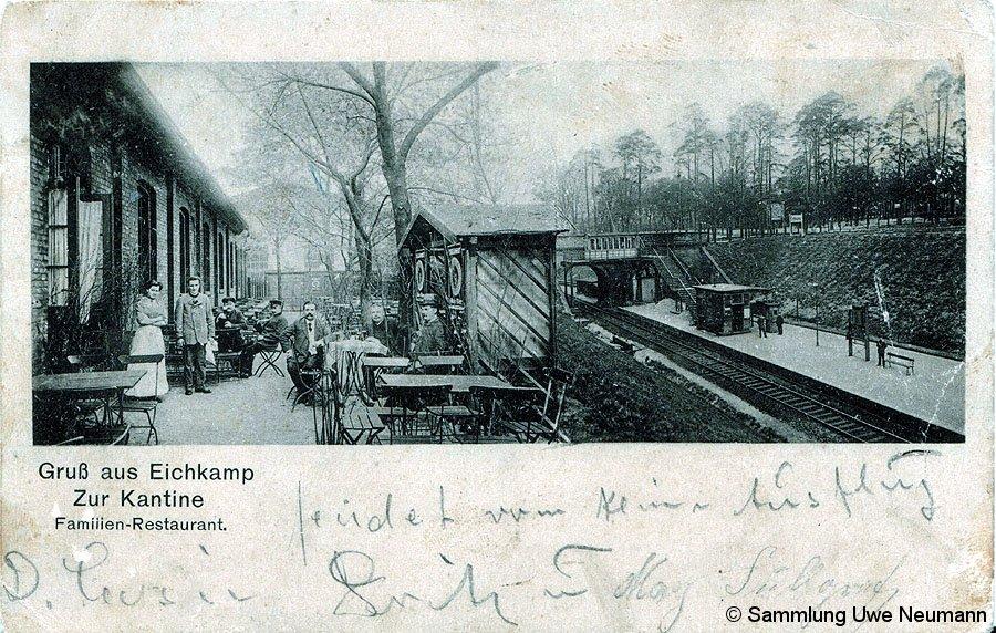 Bild: zwischen Westkreuz und Grunewald