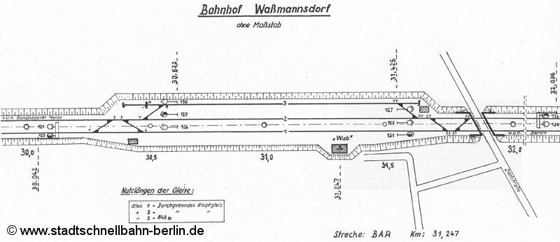 Bild: Gleisplan 1967