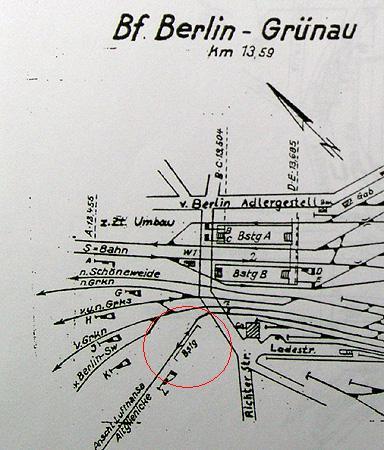 Bild: Gleisplan 1962