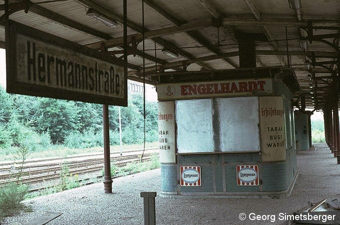 Bild: geschlossener Kiosk