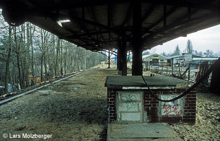 Bild: Abriß Bahnsteig