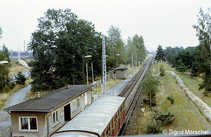 Bild: Bahnsteig 1983