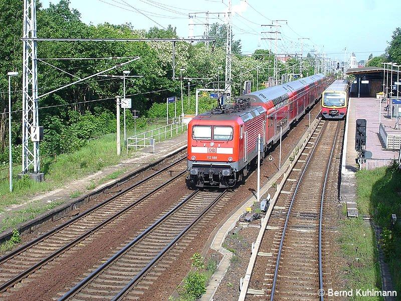 Bild: Überblick der Bahnsteige