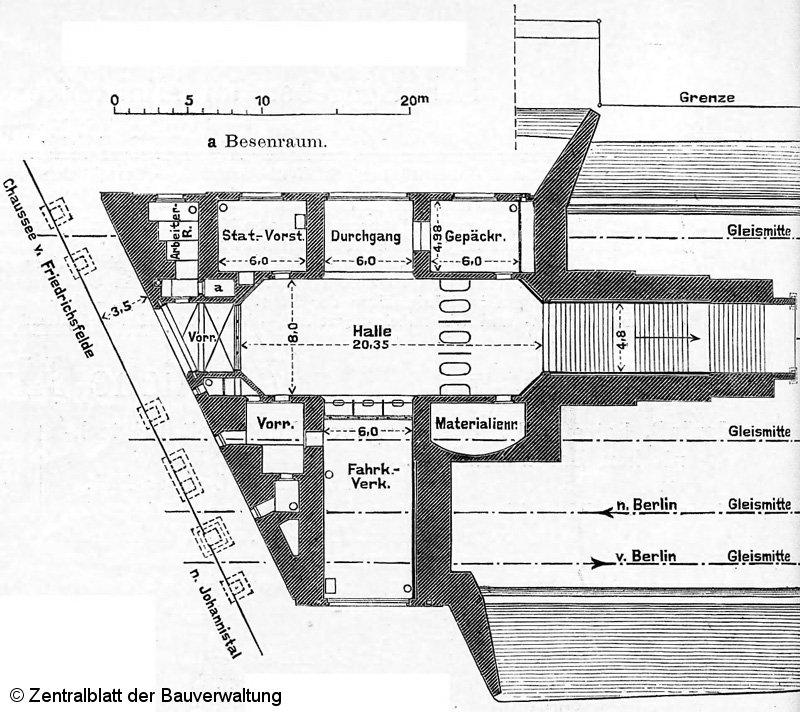 Bild: Grundriß von 1905