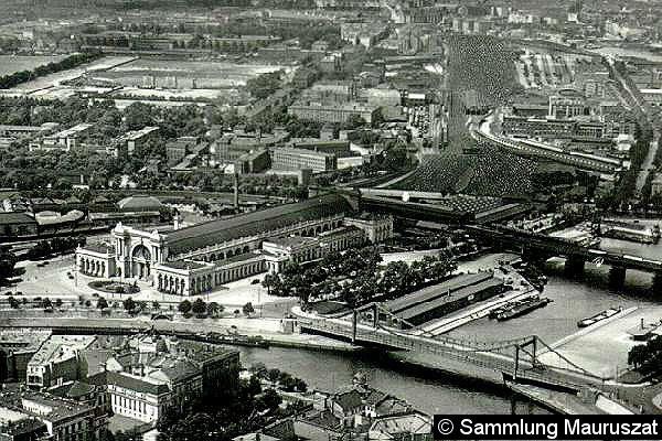 Bild: Bahnhofsansicht 1937