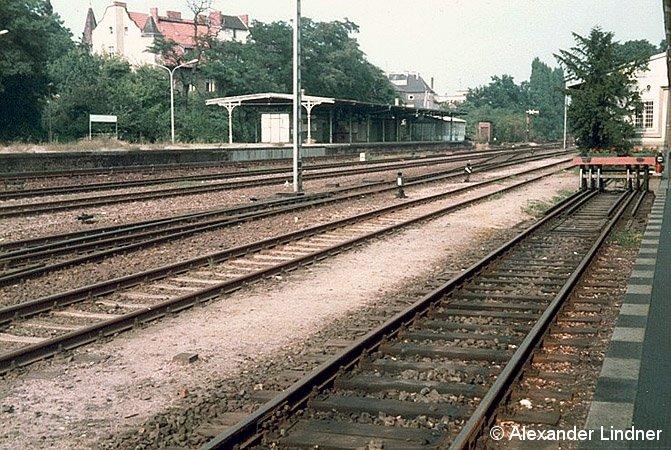 Bild: S-Bahnsteigansicht