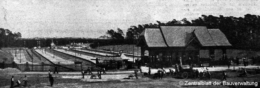 Bild: Bahnhofsansicht 2