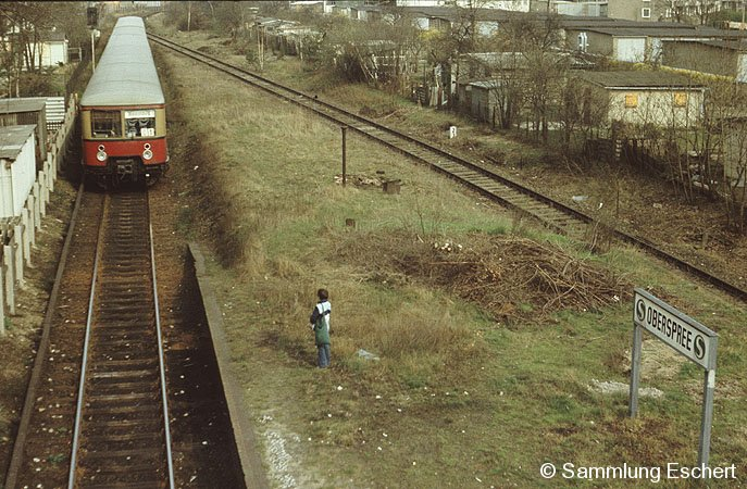 Bild: Ostansicht April 1983