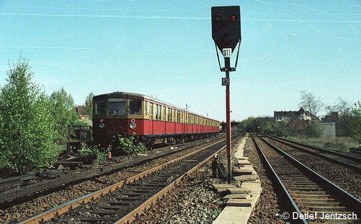 Bild: Zug in der Ringkehranlage