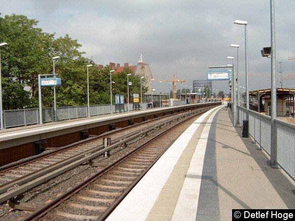 Bild: Behelfsbahnsteig 2