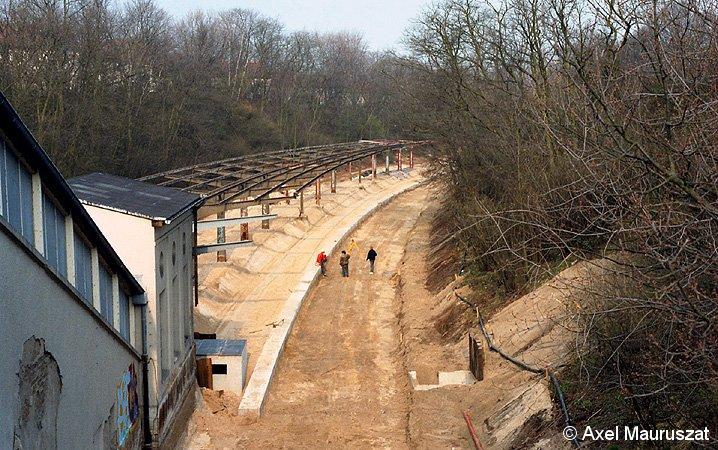 Bild: Neutrassierung der Strecke