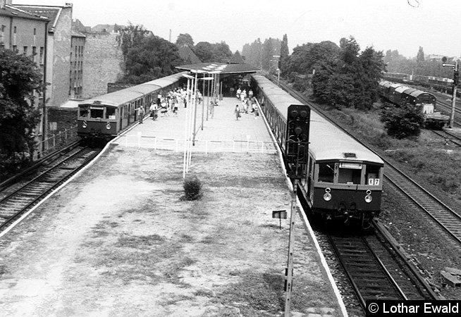 Bild: Zugverkehr in Pankow