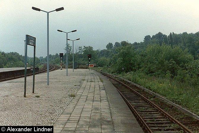 Bild: Gleis 1 Richtung Südende