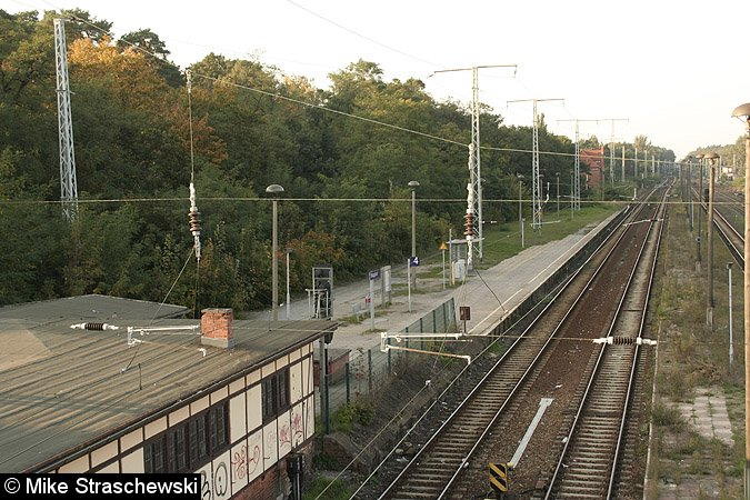 Bild: ehemaliger S-Bahnsteig
