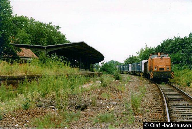Bild: Containerzug