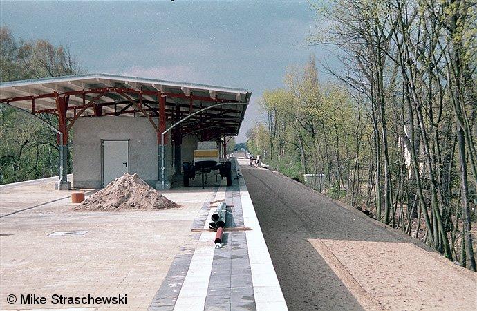 Bild: Bahnsteigansicht 1998