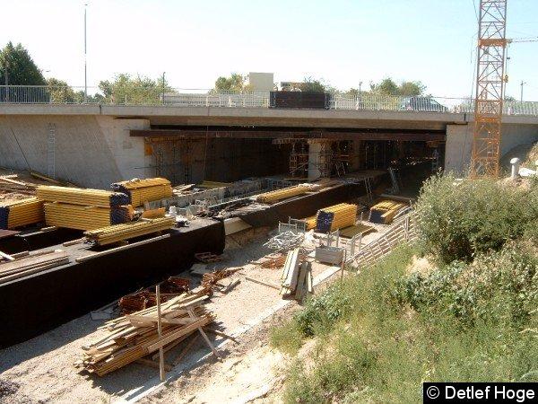 Bild: Bauarbeiten 2004