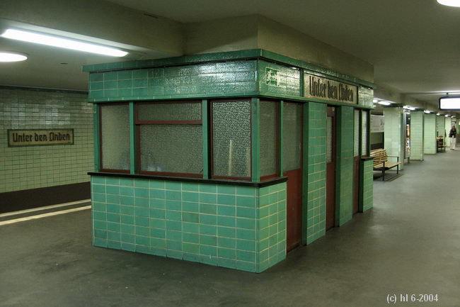 Bild: alter Kiosk
