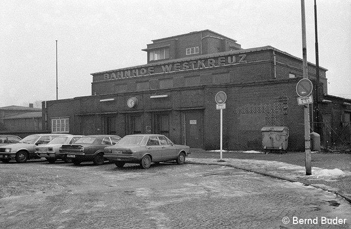 Bild: Empfangsgebäude 1983