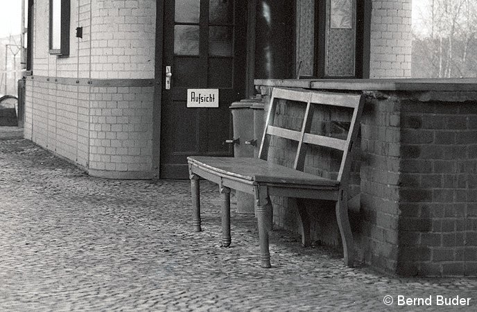 Bild: Bahnsteigbank
