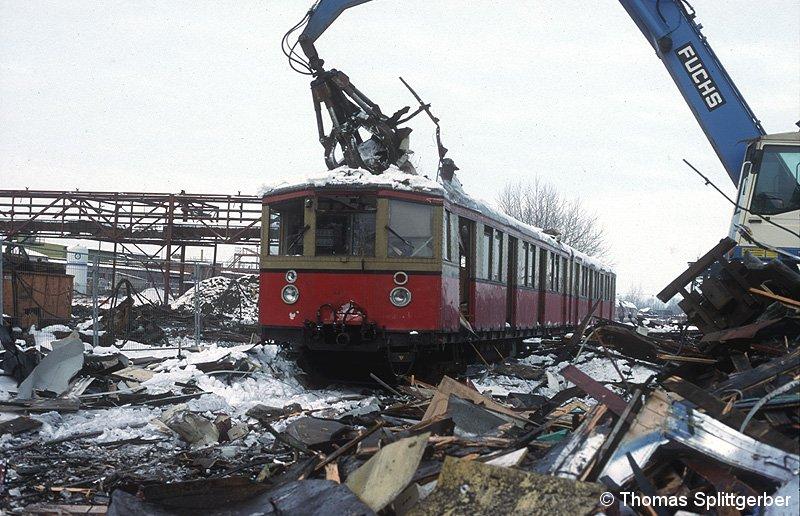 Bild: Verschrottung in Espenhain - 1