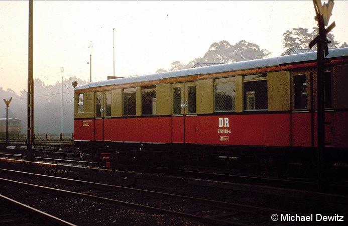 Bild: 278 109 im S-Bw Wannsee