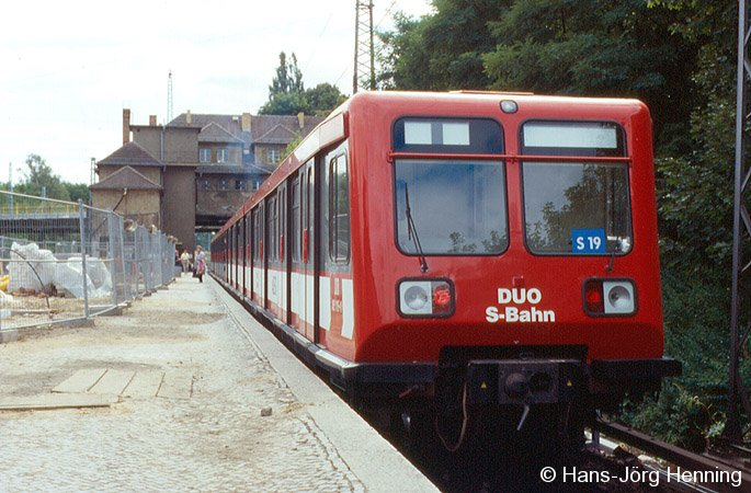 Duo-S-Bahn in Birkenwerder
