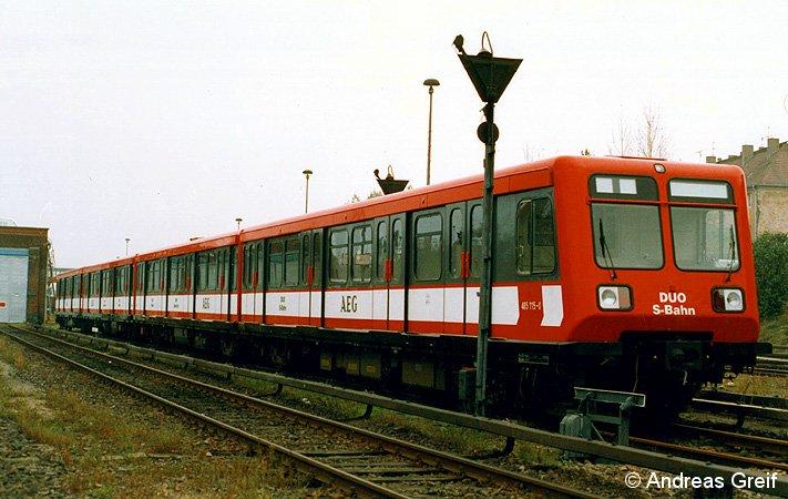 Duo-S-Bahn in Friedrichsfelde