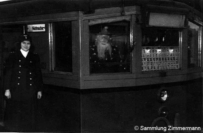 Bild: Weihnachtszug 1952