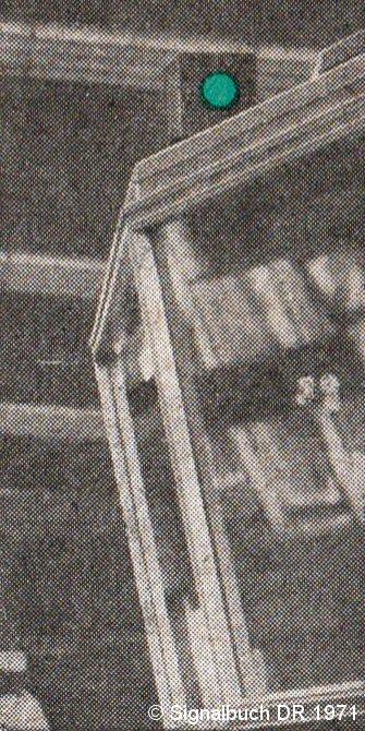 Bild: Abfertigungslicht Alexanderplatz