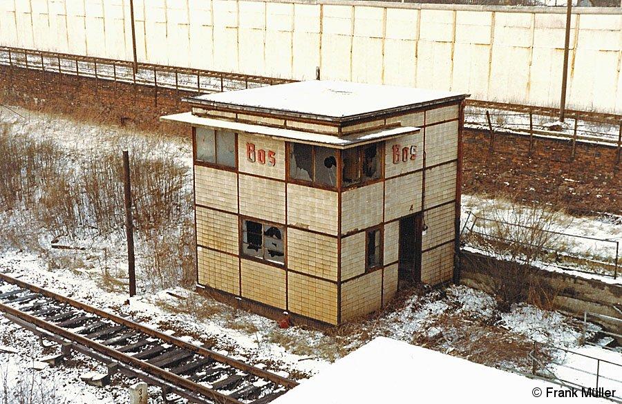 Bild: Mast industrielles Fernsehen Bornholmer Straße.