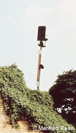 Bild: Not-Hauptsignal Wollankstraße Richtung Bornholmer Straße