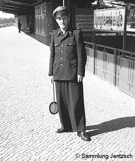 Bild: Aufsicht Bf Jungfernheide 1951-2
