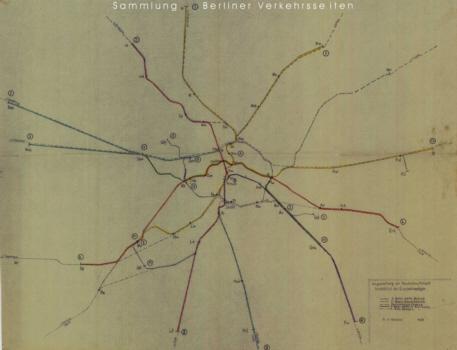 geplantes Netz 1939
