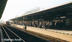 Bild: Wannsee Fahrgastandrang