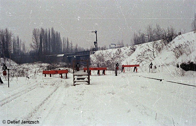 Bild: Winter 78/79 in Kehre Gesundbrunnen
