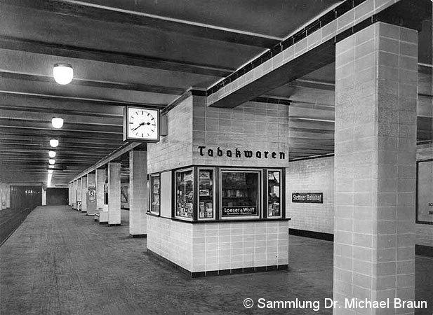 Bild: Stettiner Bahnhof - Bahnsteig A