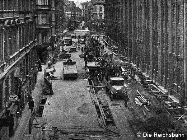 Bild: Baustelle Artilleriestraße