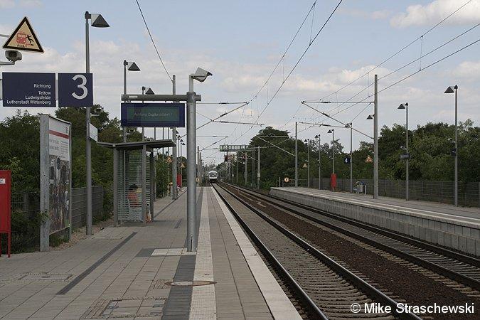 Bild: Regionalbahnsteig Lichterfelde Ost