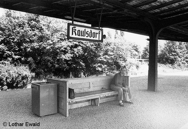 Bild: Wartender in Kaulsdorf