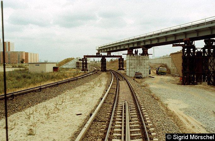 Bild: Brückenneubau