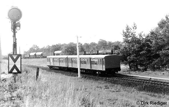 Bild: Probefahrt nahe Hennigsdorf Nord