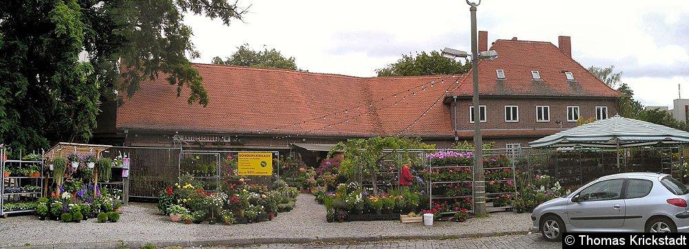 Empfangsgebäude Gartenfeld