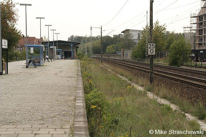 Bild: Bahnsteigansicht Wildau